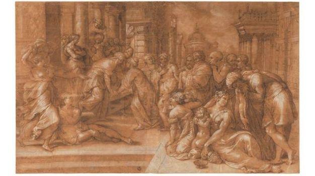 Francesco de' Rossi – Visitazione