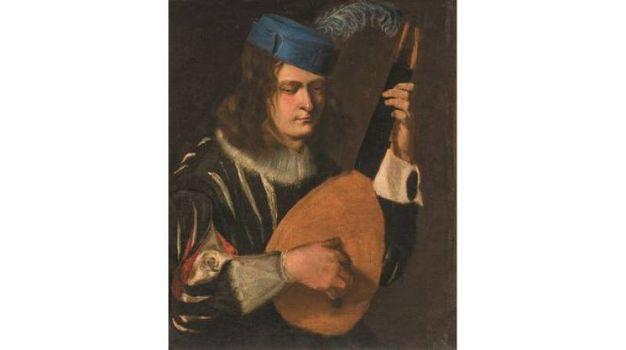Leopoldo de' Medici - Ritratto del musico Simone Martelli