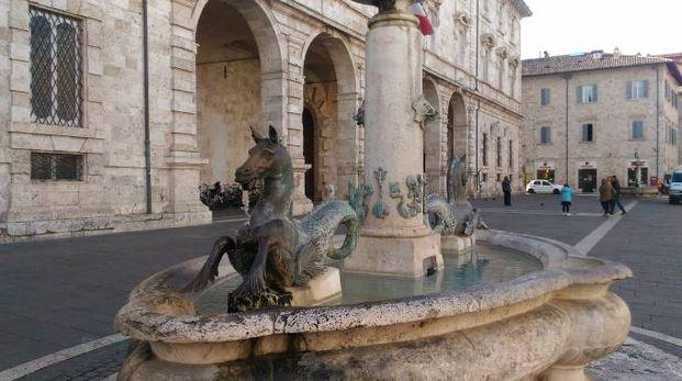 La fontana di piazza Arringo