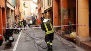 I residenti della zona sono stati sfolalti per sicurezza (foto Schicchi)