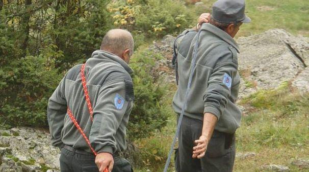 Segnalazioni ci sono in particolare in Val di Togno Sopra, personale della Provincia, in una foto di archivio (ANP)