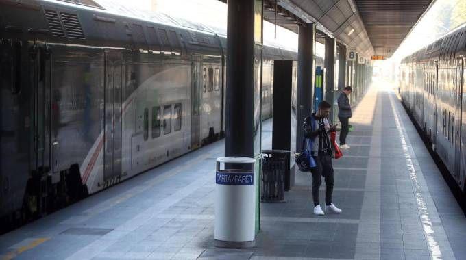 Sciopero dei treni (Ansa)