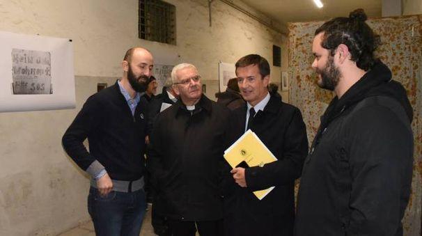 Il vescovo Beschi e il sindaco Gori