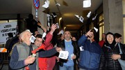 Le contestazioni (foto Businesspress)