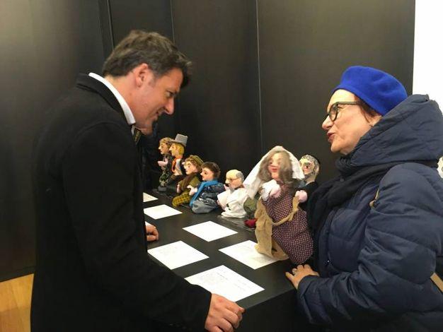 Matteo Renzi all'ascolto