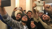 Selfie con Matteo Renzi