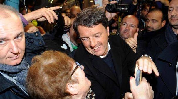 Matteo Renzi a Ferrara