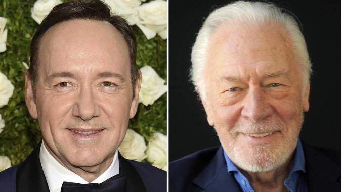 Kevin Spacey sostituito con Christopher Plummer in 'Tutto il denaro del mondo' (Ansa)