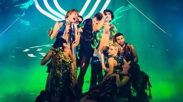 Sem e Stenn sul palco di X Factor (Facebook @xfactoritalia)
