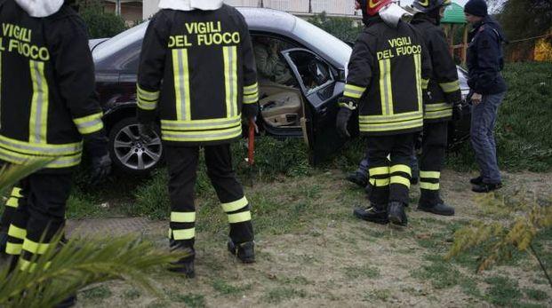 Il singolare incidente a Lido di Fermo (Foto Zeppilli)
