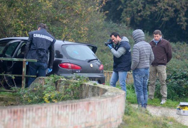 Le indagini (foto Corelli)