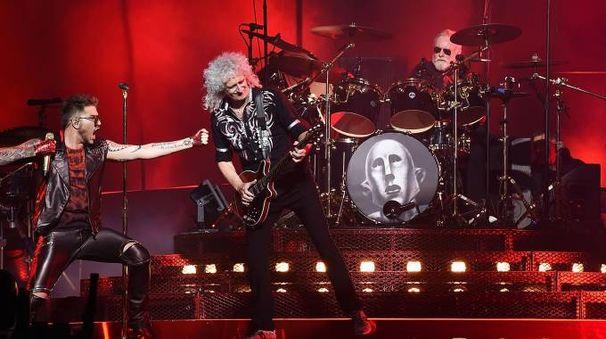 Queen + Adam Lambert (Afp)
