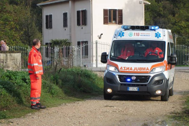 Il tragico incidente (foto Sgattoni)