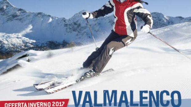 Il volantino turistico della Valmalenco