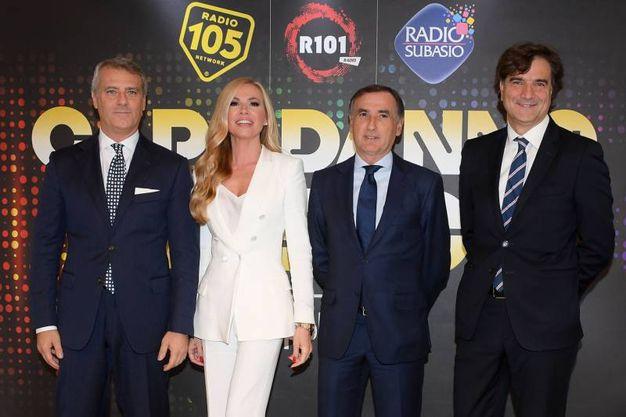 Bologna, capodanno con Canale 5 all'Unipol Arena (foto LaPresse)