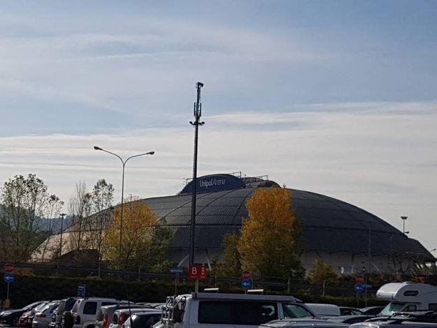 L'appuntamento all'Unipol Arena di Casalecchio di Reno per un Capodanno all'insegna della grande musica (foto Dire)