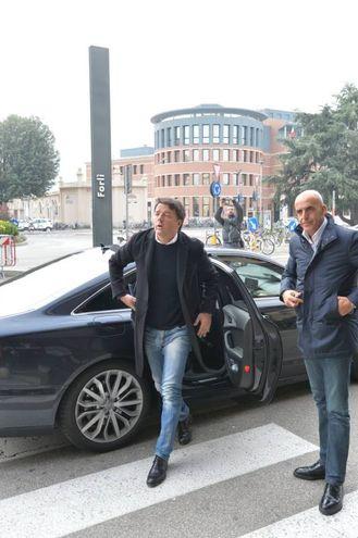Nessuna intervista rilasciata dal leader del Pd (foto Frasca)