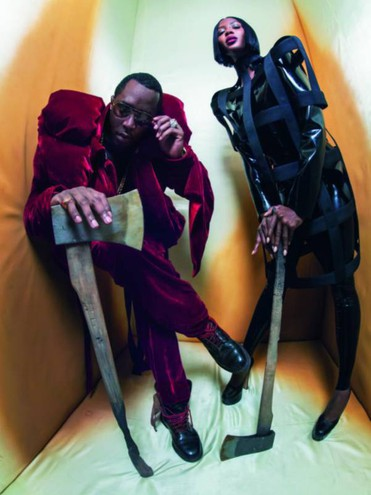 THE BEHEADER – NAOMI CAMPBELL AND SEAN DIDDY COMBS