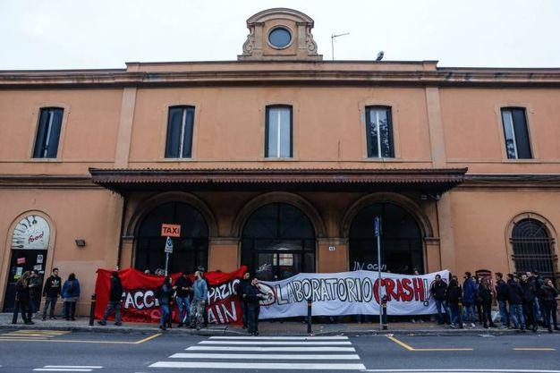 Crash ha occupato l'ex stazione ferroviaria Veneta (foto Schicchi)