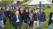 La visita di Matteo Renzi al parco tecnologico (Scardovi)