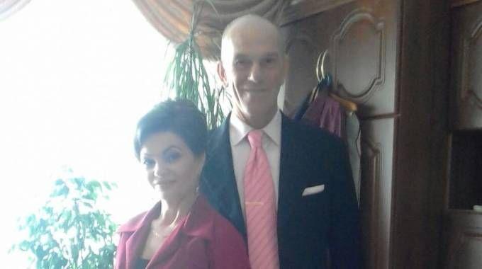 Nicola Pontiggia e la moglie Svetlana