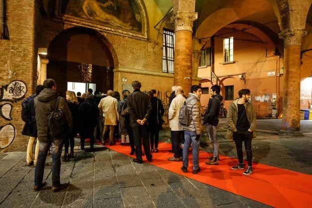 L'inaugurazione di 'Scuderia' in piazza Verdi (foto Schicchi)