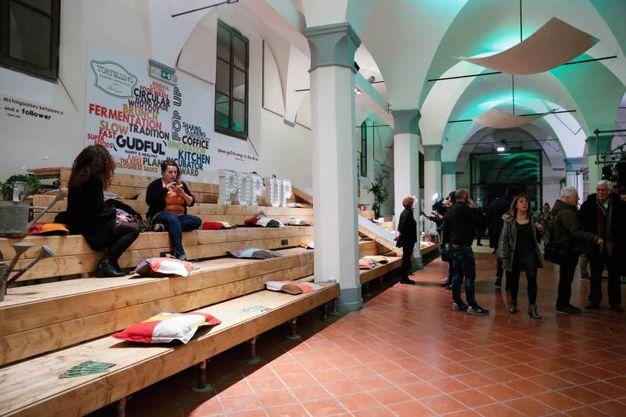 L'interno del nuovo locale in piazza Verdi (foto Schicchi)