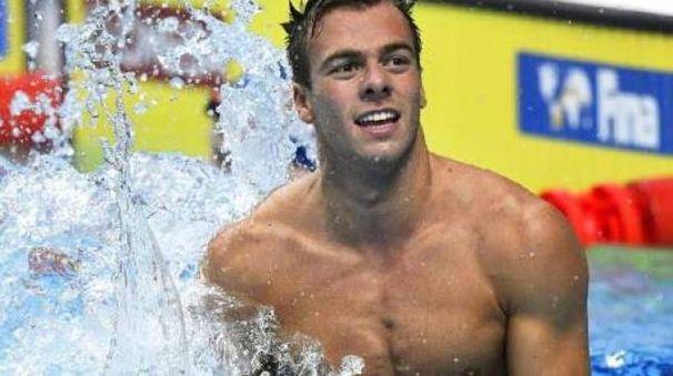 Il campione di nuoto Greg Paltrinieri