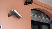 La filiale è dotata del sistema di videosorveglianza (Foto Scardovi)