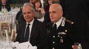 Tra gli ospiti anche il prefetto Matteo Piantedosi e il colonello Vittorio Giardina (foto Radogna)