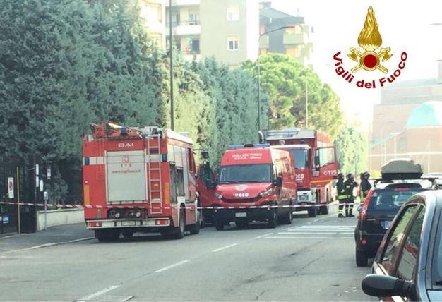 Perdita di gas in via Val Cannobina, due palazzi di 4 piani sono stati fatti evacuare