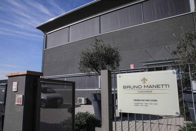 Furto alla Bruno Manetti cashmere (Tommaso Gasperini / Fotocronache Germogli)