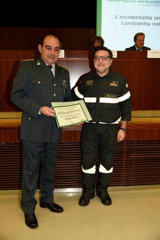 Giornata della Sicurezza e Fraternità stradale, durante la quale sono state consegnate riconoscenze e benemerenze