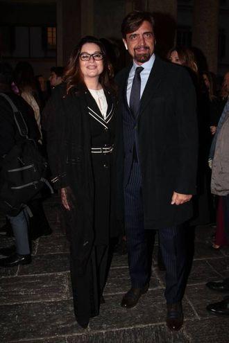 Valerio Staffelli con la moglie Matilde Zarcone