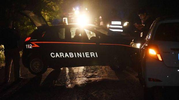 Sul posto i carabinieri (foto archivio Businesspress)