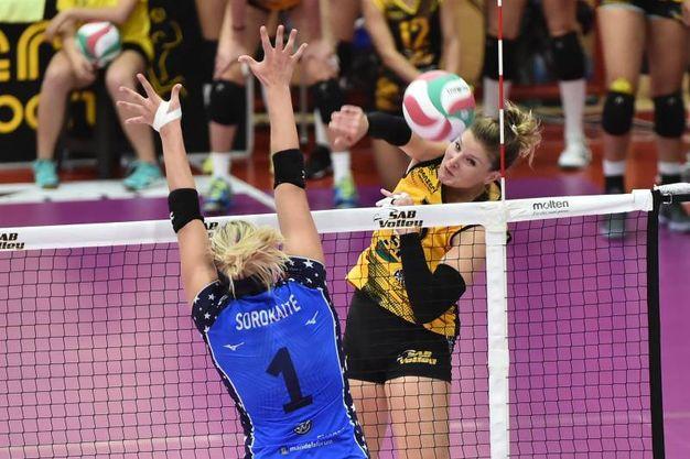 Volley A1 femminile, Legnano batte Firenze