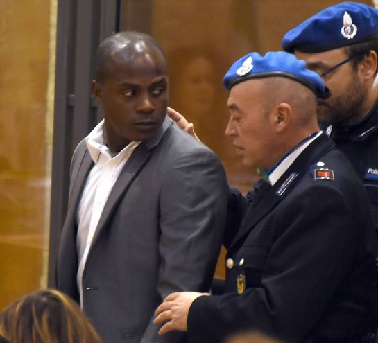 Guerlin Butungu in tribunale (foto Migliorini)