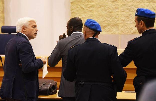 Butungu in tribunale (foto Migliorini)