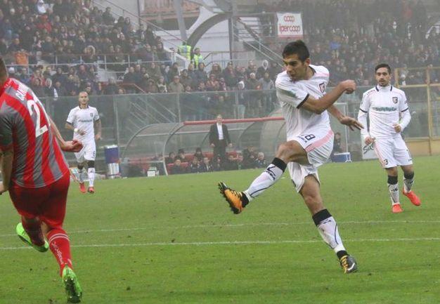 Il gol di Chochev del Palermo 1-2