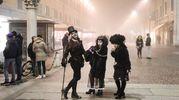 Creature noir per le vie del centro di Ferrara (foto Andrea Samaritani)