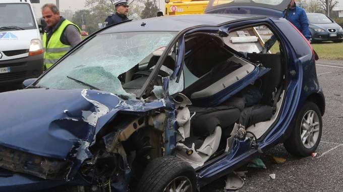 Incidente in viale Fermi a Monza