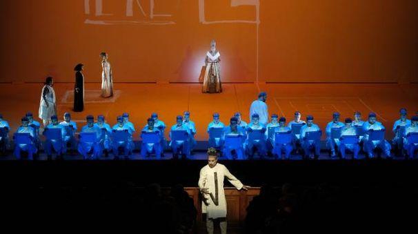 Bologna, l'Aida al Comunale (foto Schicchi)