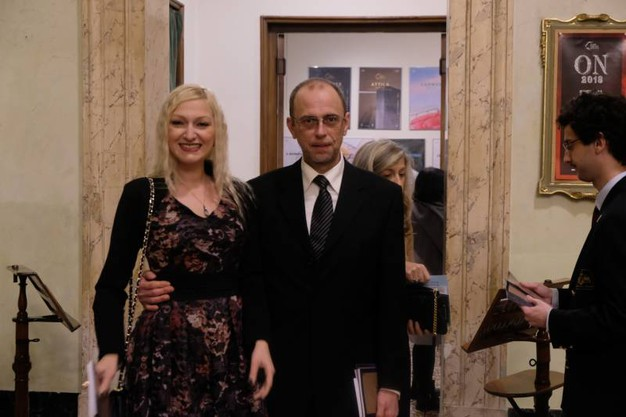 Maria Teresa Giovagnoli e Lukas Franceschini (FotoSchicchi)