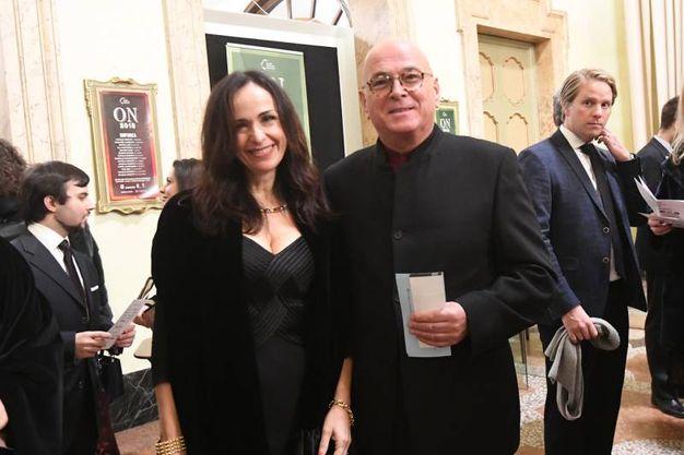 Il maestro Giorgio Zagnoni con Rita Marchesini (FotoSchicchi)