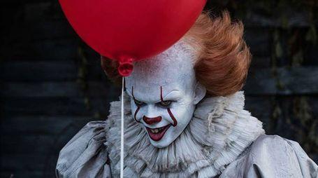 Il clown di 'It' del film tratto dal romanzo di Stephen King