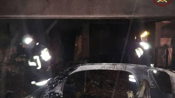 Garage a fuoco