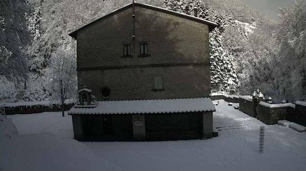 Prima neve sull\'Alto Savio, ma c\'è un nuovo allerta meteo ...