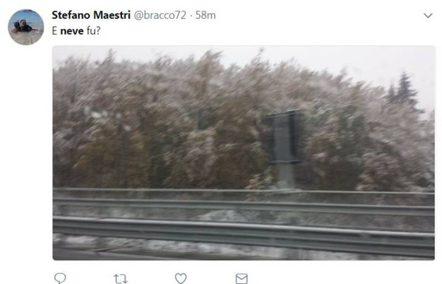 Neve, le foto sui social (@bracco72)