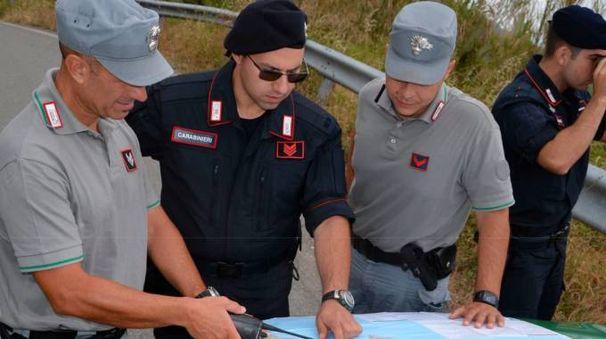 La guardia forestale ha denunciato i due contrabbandieri