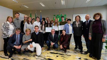 Studenti e insegnanti del liceo Crespi ospiti di Regione Lombardia